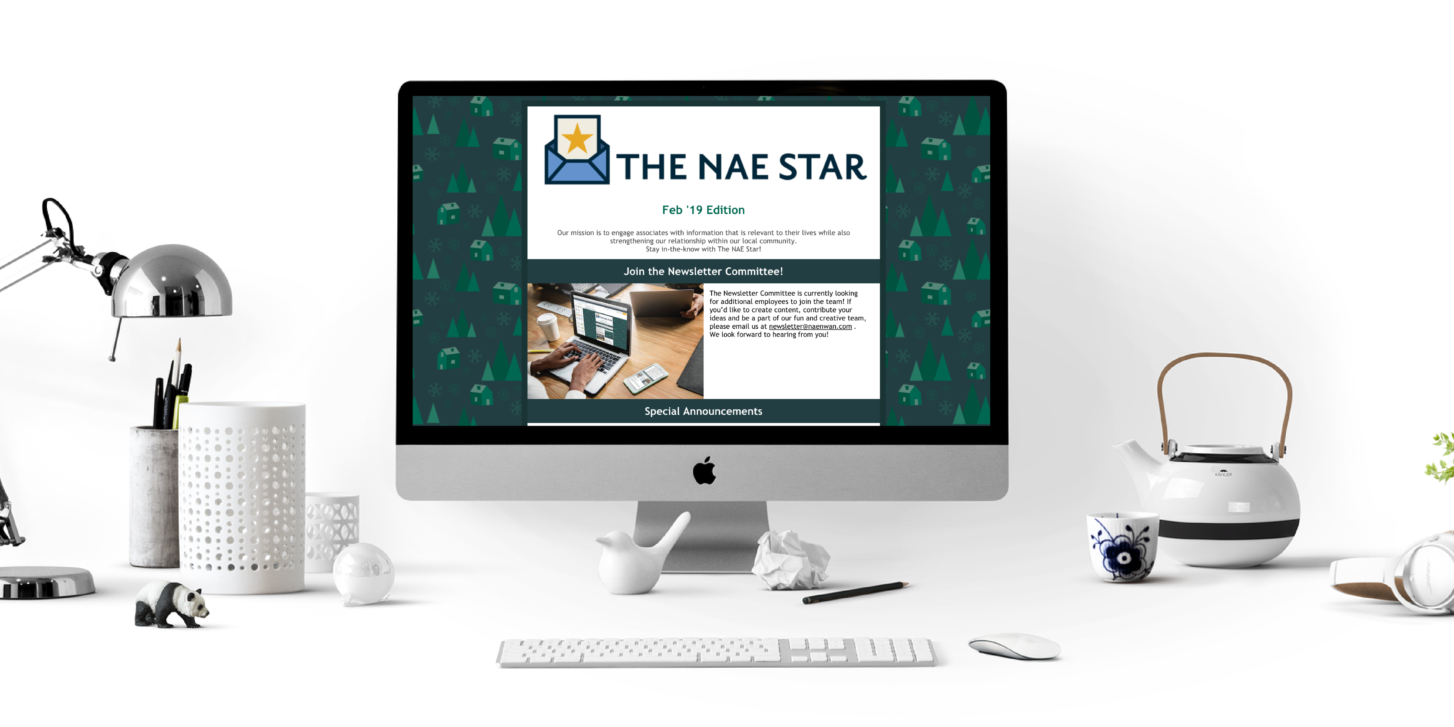 NAE Star Mockup