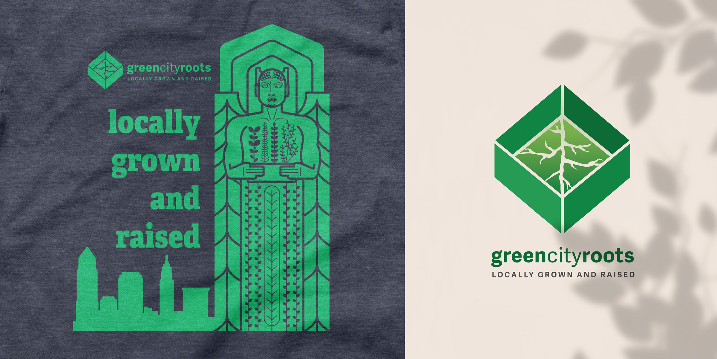 Green City Roots Branding and Marketing